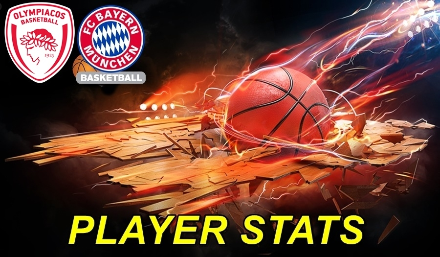 Olympiacos-Bayern Player Stats