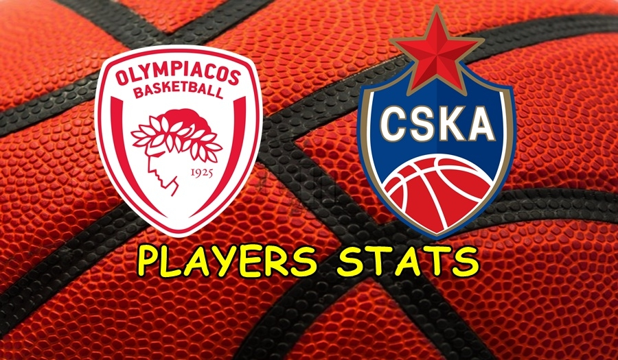 CSKA Moscow - Olympiacos Players Stats