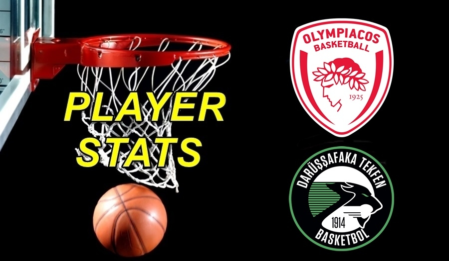 Olympiacos-Darussafaka Player Stats