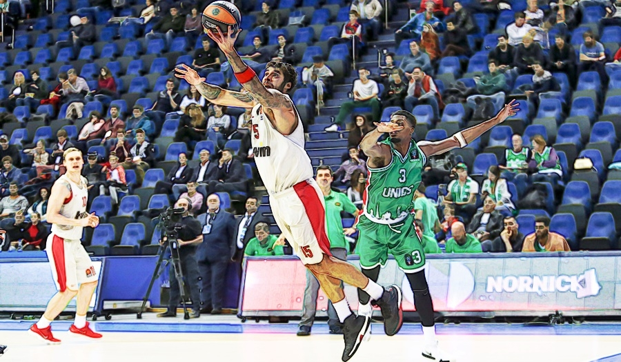 Unics-Olympiacos 89-91 Ext.Highlights (video)